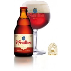 St Feuillien - 33cl Brune 8.5°