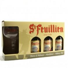 St feuillien - Coffret 3x33cl +1 Verre