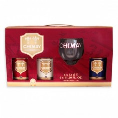 Chimay - Coffert 3X33cl + 1 Verre