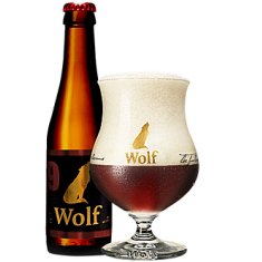 Wolf - 9 Ambrée 33cl 9°