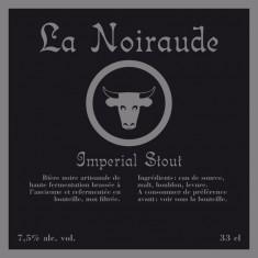Brasserie Mortier - La Noiraude 33cl Impérial Stout 7.5°