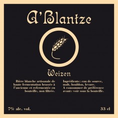 Brasserie Mortier -  A Blantze 33cl Weizen Blanche 7°