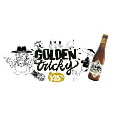 t'Verzet - Golden Tricky 33cl Blonde 7.5°